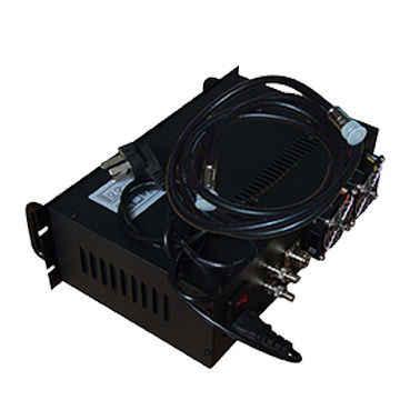 長距離アナログビデオ送信機 1.2 Ghz ワイヤレスビデオ Tranmitter 10 ワット 4 チャンネル放送ビデオ送信者