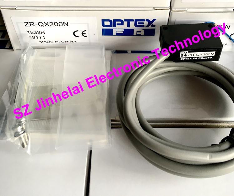 Nuovo ed originale ZR-QX200N OPTEX INTERRUTTORE FOTOELETTRICO sensore FotoelettricoNuovo ed originale ZR-QX200N OPTEX INTERRUTTORE FOTOELETTRICO sensore Fotoelettrico