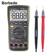 цена на Borbede Auto Digital Multimeter Range BD-16C  of 6000 Counts AC DC Resistance Temperature Capacitance True RMS Diode Tester