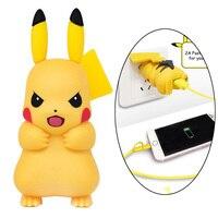 2017 Nieuwe Collectie Pop Pikachu Mobiele Telefoon Adapter USB Power Muur Charger voor iPhone 7 6 s 6 Plus 5 5 s 5c Socket