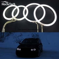 HochiTech Excellent Angel Eyes Kit For Volkswagen VW Golf Mk4 1998 To 2004 Ultra Bright Headlight