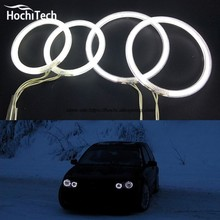 HochiTech Excellent Angel Eyes Kit For Volkswagen VW Golf Mk4 1998 to 2004 Ultra bright headlight illumination CCFL(China)