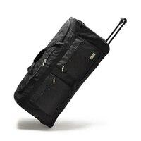 Large Capacity Travel Bag Rolling Luggage Travel Trolley Bag Suitcase On Wheels Women Shoulder Bags Men's 2732 Inch Oxford bag