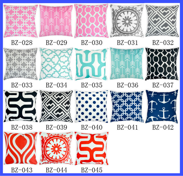 B Z Design Home Part - 37: Latest Design Home Use Cushion Cover Colorful Printed Cushion Cover Fancy  Cushion Covers For Sale 48pcs
