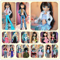 Wholesale free shipping  original packaged for sale for monster high clothes doll skirt leisure suit clothing accessories