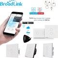 Broadlink tc2 1 2 3 gang interruptor de luz de automação residencial wi-fi 110 v-240 v controle remoto sem fio toque do painel de vidro by rm2 rm pro