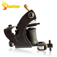 Rotary Tattoo Machine Shader And Liner 8 Wrap Coils For Power Supply Assorted Tatoo Motor Gun