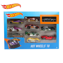 Hotwheels Exclusive Gift Pack 10-Piece One Box 1:64 Fast and Furious Diecast Mini Sports Cars Electroplated Metal Model Carros