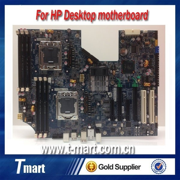100% working For HP Z600 Desktop Motherboard 460840 003
