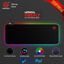 Fantech MPR800S RGB коврик для мыши игровой коврик для мыши 800x30x0,03 см USB Коврик для мыши ультра-гладкая тканевая поверхность с запирающимся краем для геймера