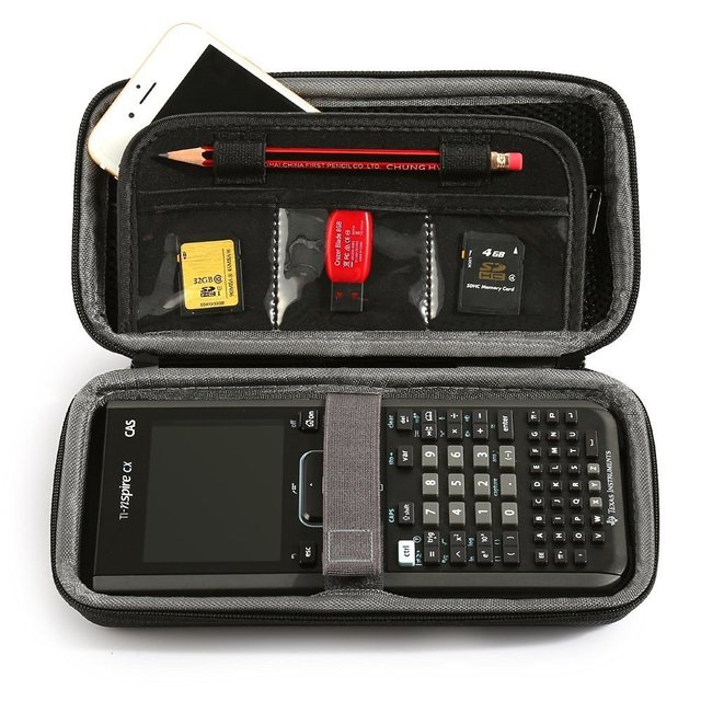 US $8 09 19% OFF for Graphing Calculator Texas Instruments TI Nspire CX CAS  Graphing Calculator Hard EVA Shockproof Carrying Case (only case)-in