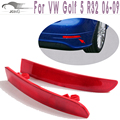ABS Rear Bumper Tail Red Reflectors Mask Cover for VW Golf 5 V MK5 R32 2006-2009 ( Only Golf 5 R32 )