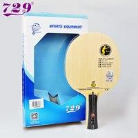 Оригинальный 729 V-5 настольный теннис лезвие ракетка для настольного тенниса ракетка спорт углерода лезвие быстрая атака с петлей