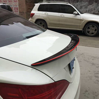 E92 M3 Modified M4 Style Carbon Fiber Red Line Rear Trunk Luggage Compartment Spoiler Car Wing
