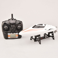 30KM/H High Speed remote control rc Boat H102 2.4GHz 4ch RC Speedboat Racing Boat electronic boat child best gift toy vs WL915