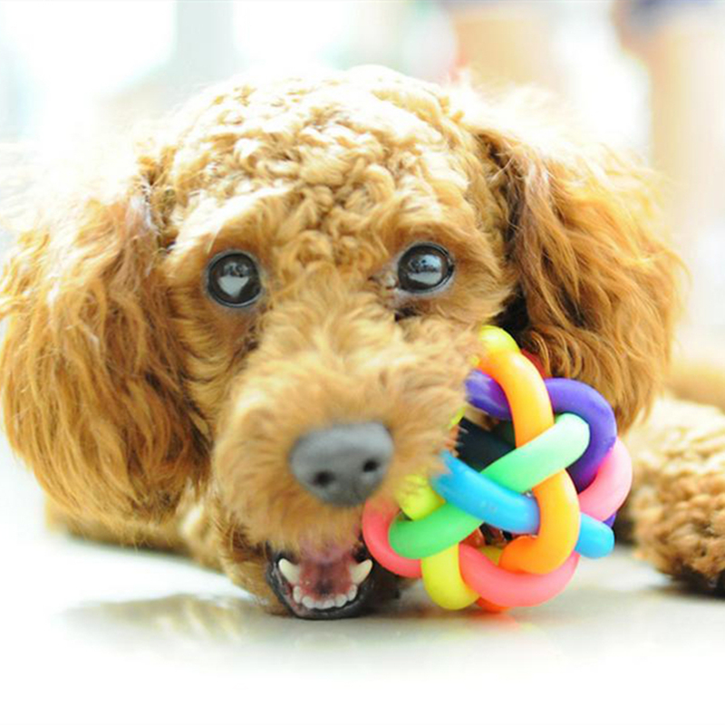 Rinbow-Color-Pet-Dog-Cat-Ball-Toy-with-Bell-for-Small-Medium-Large-Dogs