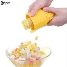 Bxlyy 1 шт. зачистки кукурузы зерна Cob сепаратор фруктовый салат Кухня гаджет овощерезка для декорирования торта Delivery.7z