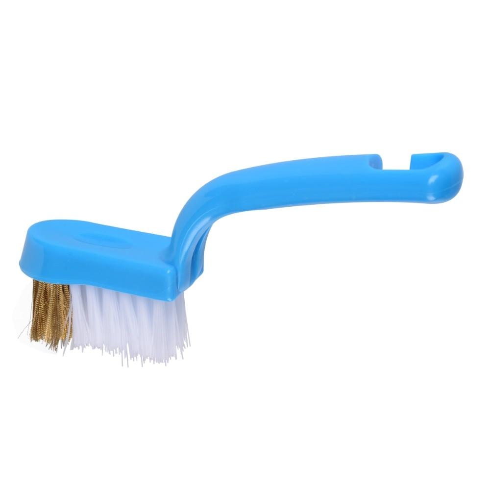 2015 nuevo diseño de parrilla limpia cepillo de barbacoa Nylon cepillo de limpie