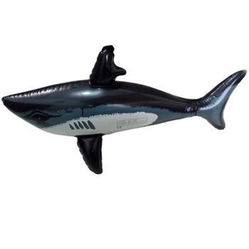 Pływający rekin pływająca zabawka dla dzieci dorośli nadmuchiwane zabawki wodne basen symulacja wieloryb ryby zwierzęta zabawki akcesoria basenowe 25 tanie i dobre opinie Inflatable Water Toys Fish Animals Toys Pool Accessories