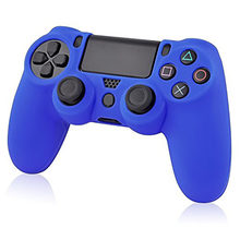 Soft Silicone Rubber Skin Case Cover for Sony PS4 Case Controller Grip Cover JoyStick Caps 4 Colors to choose(China)