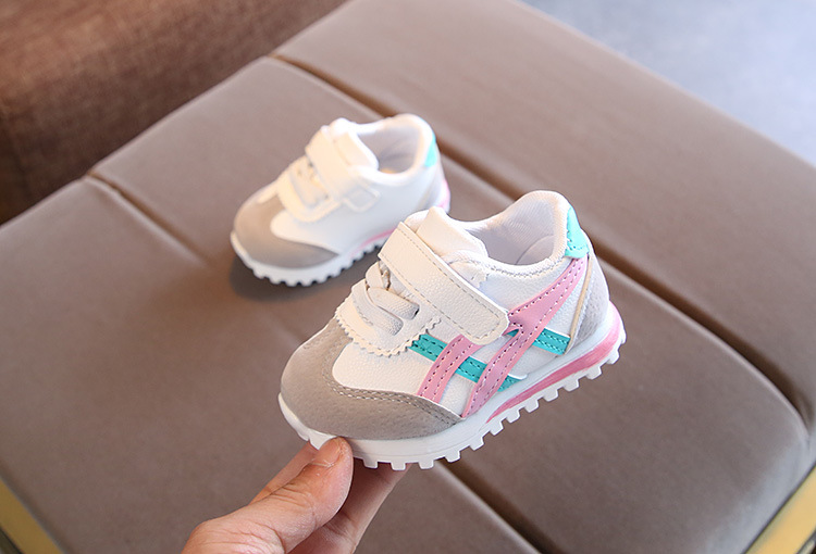 219 New children sports shoes for boys girls baby toddler kids flats sneakers fashion casual infant soft shoe