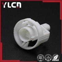 Alta Qualidade 1pin auto plugue de plástico elétrica cablagens conector do cabo branco masculino
