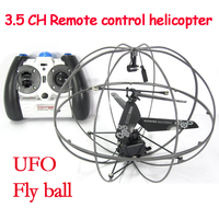 3.5CH gyro UFO RC Helicopter drone RC quadcopter Indoor boy toys helicoptero Flying Ball Baby Toys for boy brushless motor drone