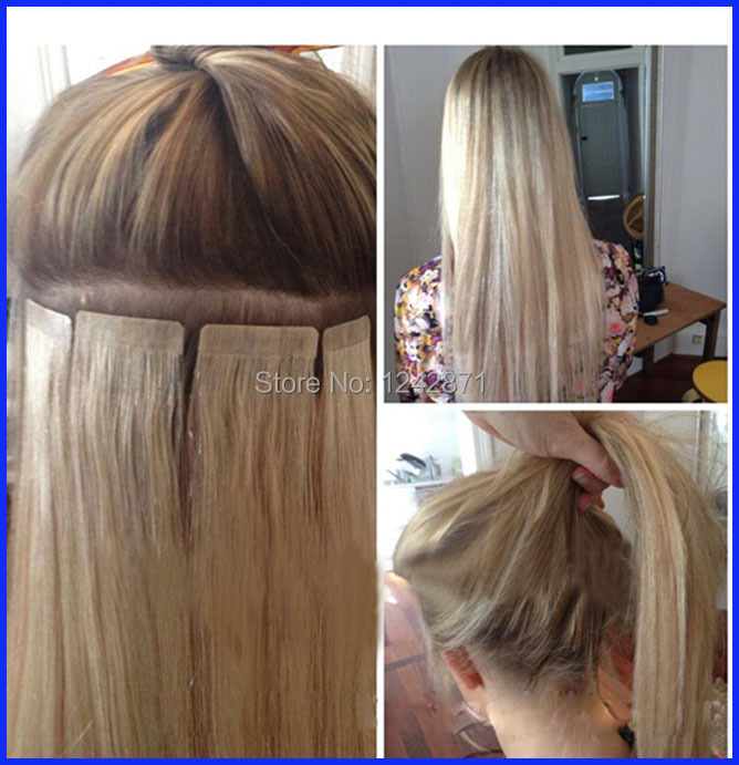 Queen Hair Products Invisible Skin Weftskin Tape Hair Extensions