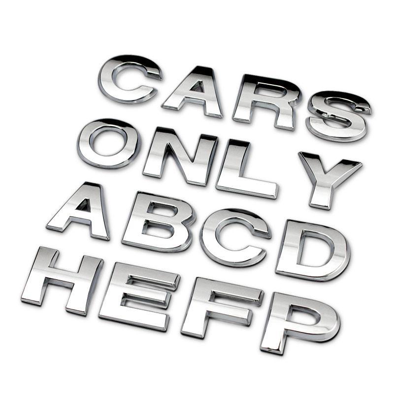 100PCS / LOT ABS προϊόντα λογότυπο έμβλημα λογότυπο με ταινία δεν καρφίτσες