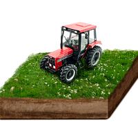 1:32 Tractor Model Kids Tractor Toy car Model Diecast Toy Vehicles Engineering Car High Simulation harvester farm Model toy