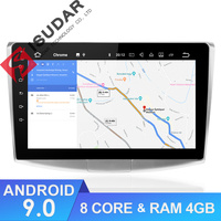 Isudar 1 Din Auto Radio Android 9 For VW/Volkswagen/Magotan/CC/Passat B6 B7 RAM 4GB ROM 64G Car Multimedia Player GPS USB DVR FM