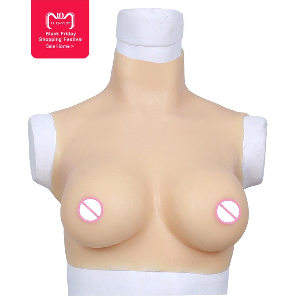 75D tasse Formes Mammaires En Silicone pour La Mastectomie Femme Du Sein enhancer Faire Corps Équilibre Artificielle Seins Poitrine pour crossdresser