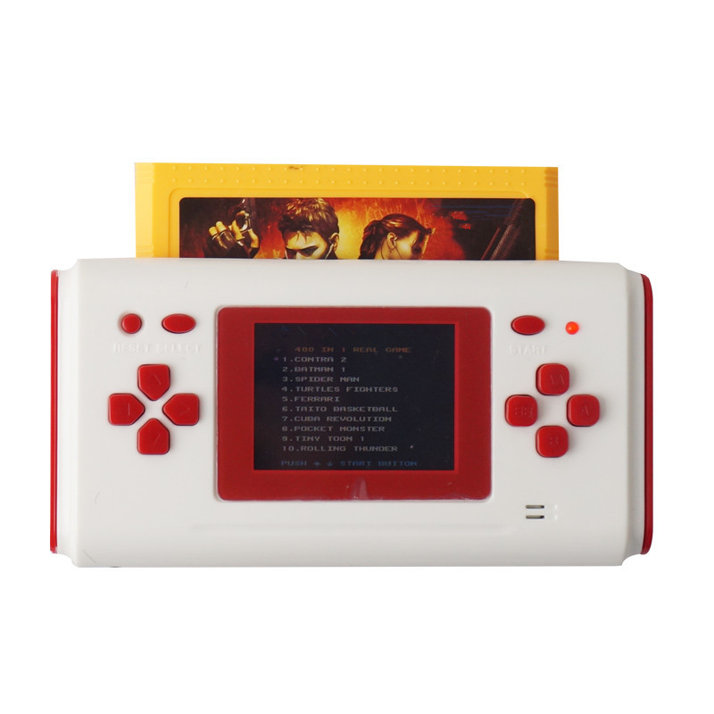 Portable game consoles Board Game/ screen handheld game machine/ inserted card/ Support nes game cartridge