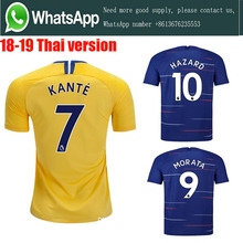 d61fc7d9c Thai AAA+ 2019 Top quality Chelseaes jersey adult Soccer jersey 18 19 Home  Away football camisetas shirt football Free shipping