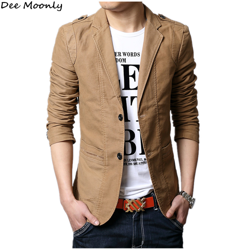 2014 New Men Blazers For Summer Slim Fit Fashion Blazers
