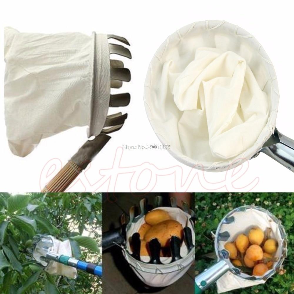 Useful Fruit Picker Apple Orange Peach Pear Practical Garden Picking Tool Bag Picking device Sammelnvorrichtung -B119