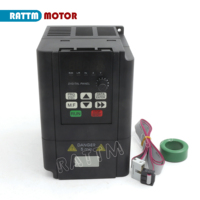 2.2KW 220V 3HP Variable Frequency VFD Inverter Output 3 phase 400Hz 10A Spindle motor speed control