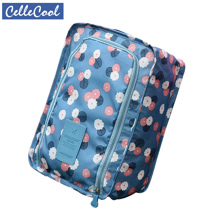CelleCool Waterproof Shoes Bag Pouch Storage Travel Bag Portable Shoes Organizer Sorting Pouch Zip Lock Home Storage