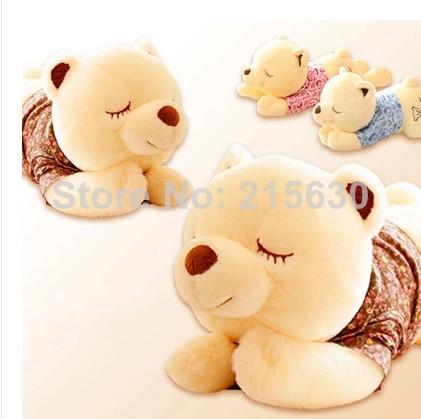 wholesale 60cm cute plush toy bear sleep teddy bears christmas