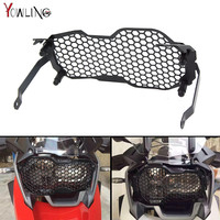 HOT R1200GS Motorcycle Stainless Steeless Headlight Grill Guard Cover Protector Grill For BMW R1200GS ADV