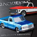 JADA 1:32 scale High simulation alloy model car,CHEYENNE Pickup truck,quality toy models,free shipping