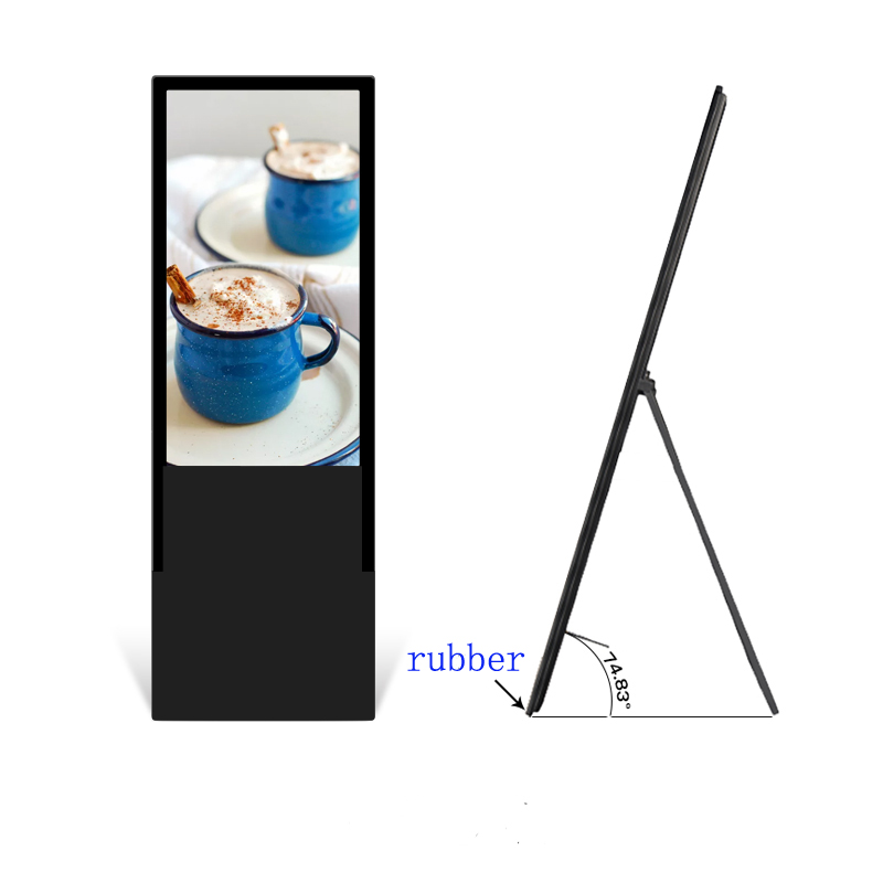 Portable-foldable-Ground-Stand-49-inch-LCD