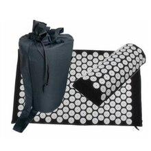 Массажный коврик, подушка, шакти, коврик для акупрессуры, облегчающий боль в спине, шип, коврик для акупунктурного массажа, коврик для йоги с подушкой 68*42 см
