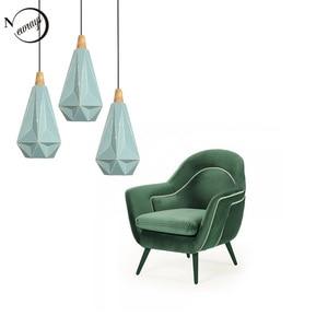 Modern minimalist industrial lamp E27 220v hanging lamp loft decor living room study pendant lights office bedroom cafe hall