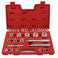 17pcs Aluminum Bearing Installer of Bearing Race and Seal Driver Set
