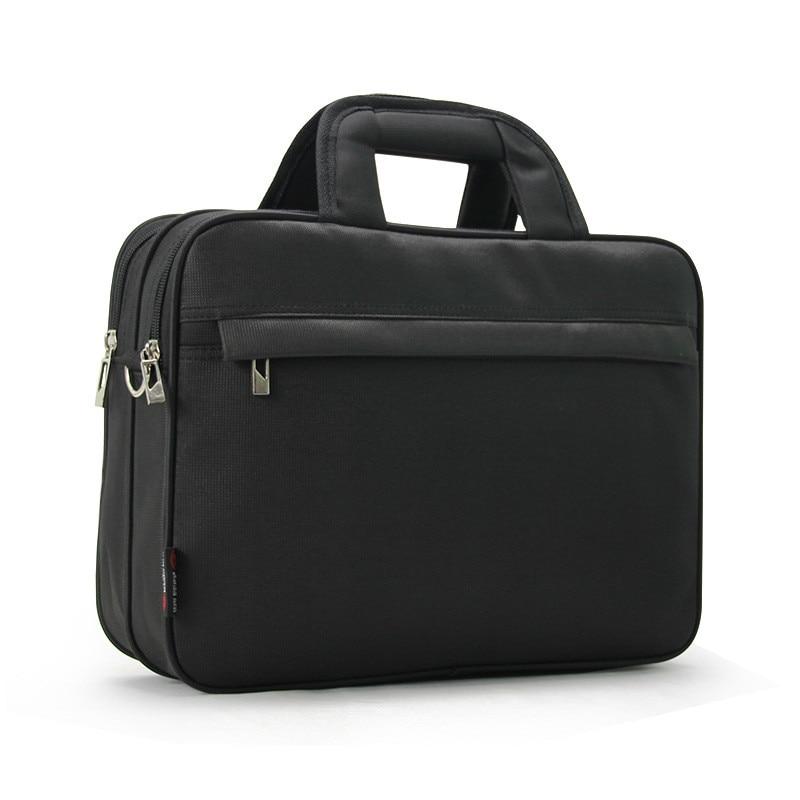 Large Capacity Men Briefcase Oxford 13.5 Inch Laptop Shoulder Bag Male Multifunction Handbag Business Travel Computer Bags