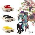Universal Women Japanese Geta Clog Kimono Flip-flop Wood Slipper Mononoke Cosplay 5 Colors