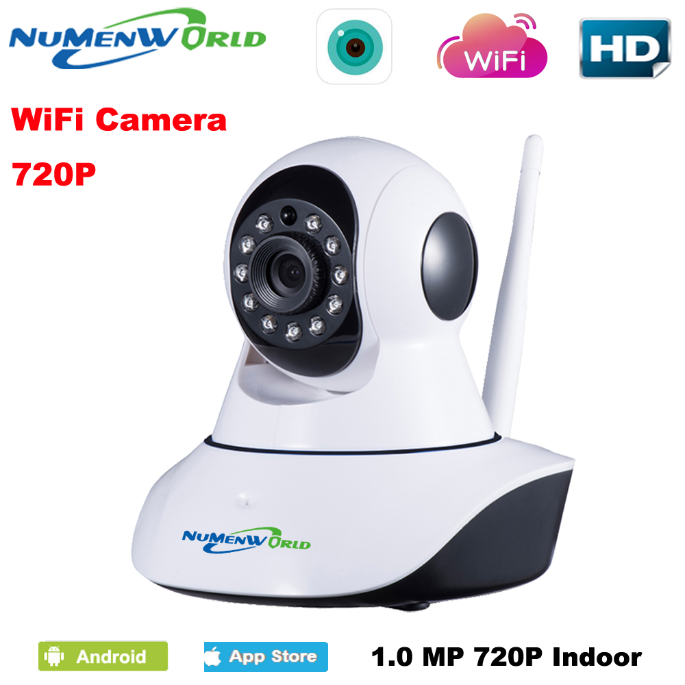 WIFI 720P IP camera Wireless Remote Control Baby Monitor Wireless IP cam With Night Vision & Voice WIFI Network CCTV IP Camera 1pcs high quality little bear p5 stereo vacuum tube preamplifier audio hifi buffer pre amp diy new