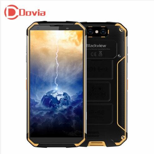 Blackview BV9500 4g Smartphone 5.7 Android 8.1 MT6763T Octa Core 2.5 ghz 4 gb + 64 gb 16MP + 16MP Caméras Arrière Doubles 10000 mah Téléphone Portable