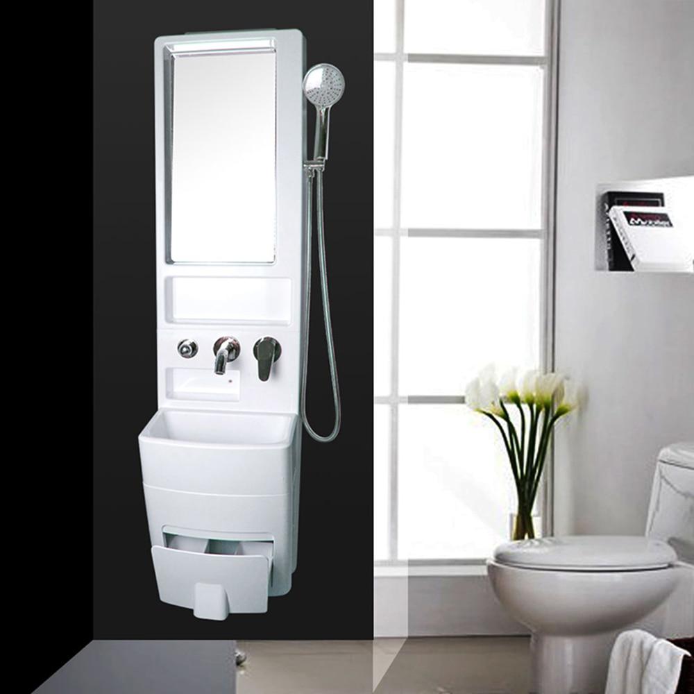 Talea multi salle de bains arche combinaison lentille ark mural mini-salle de douche armoire avec miroir anti-buée miroir SC001C001